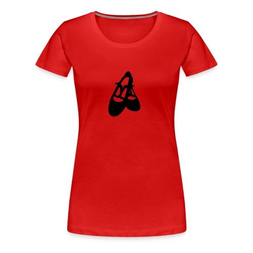 Flamencoschuhe  - Frauen Premium T-Shirt