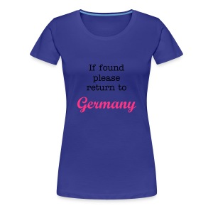 If found.. - Frauen Premium T-Shirt