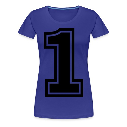 NUMBER 1 - Women's Premium T-Shirt