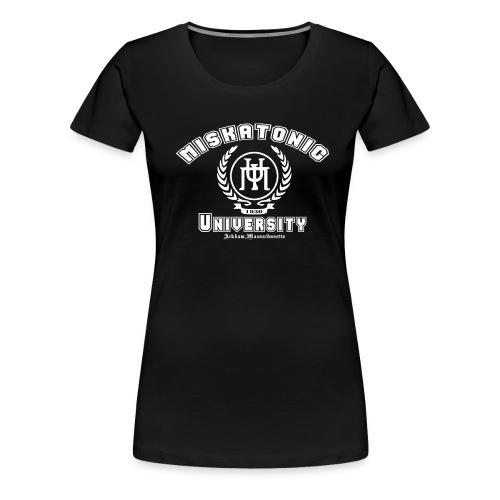 Miscatonic University - Naisten premium t-paita