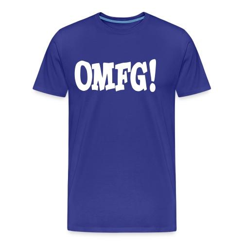 OMG - Mannen Premium T-shirt