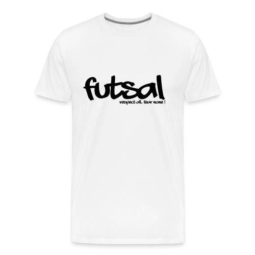 Futsal Black - T-shirt Premium Homme