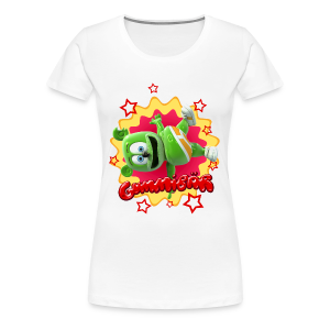 Gummibär Starburst Ladies Girlie T-Shirt - Women's Premium T-Shirt