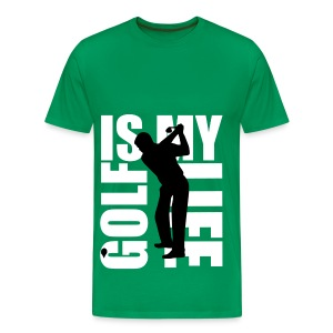 T shirt homme golf is my life - T-shirt Premium Homme