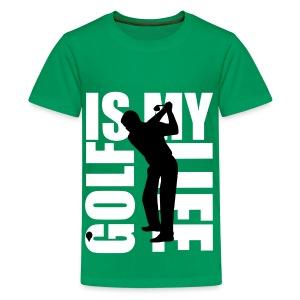 T shirt ado golf is my life - T-shirt Premium Ado