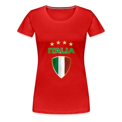 ITALIA  - Frauen Premium T-Shirt