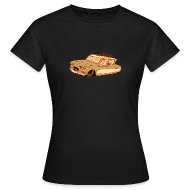 Tee shirts ~ Tee shirt Femme ~ Leadsled Sepia