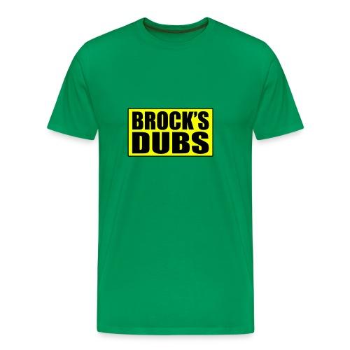 Brock's Dubs - Men's Premium T-Shirt
