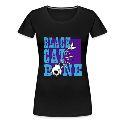 Black Cat Bone ladies T shirt - Women's Premium T-Shirt