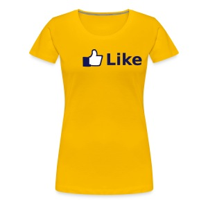 Like Shirt - Frauen Premium T-Shirt