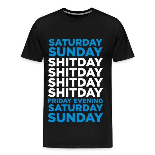 Shitday - Herre premium T-shirt