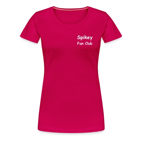 Spikey Fan Club - Frauen Premium T-Shirt