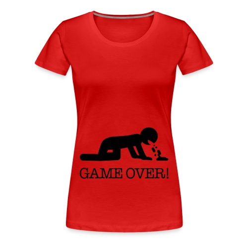You've lost! - Frauen Premium T-Shirt