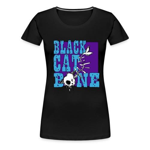 Black Cat Bone ladies T shirt - Women's Premium T-Shirt