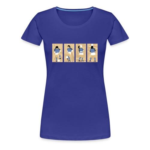 Live is Life - Maradona - dames - Vrouwen Premium T-shirt