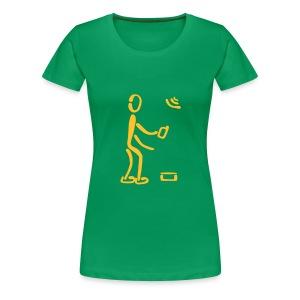 Geocaching Shirt - Frauen Premium T-Shirt