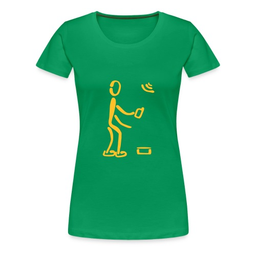 Geocaching Shirt - Frauen Premium T-Shirt