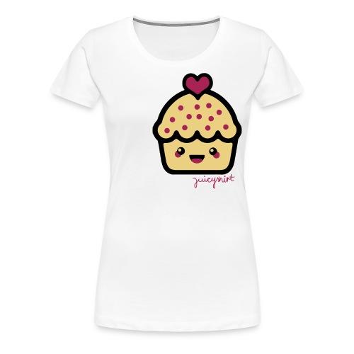 cupcake. - Women's Premium T-Shirt
