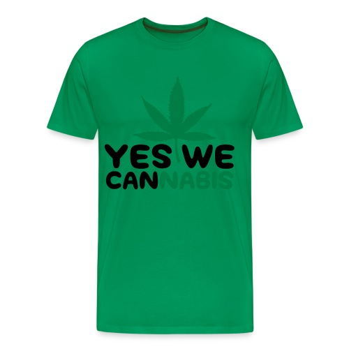 Le t-shirt parodie Yes we cannabis! - T-shirt Premium Homme