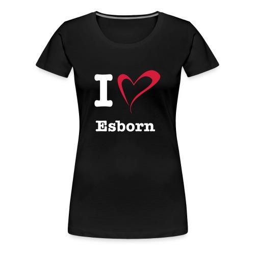 I Love Esborn XXL - Frauen Premium T-Shirt