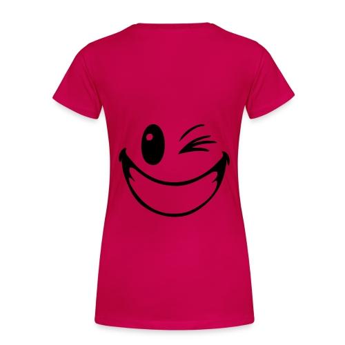Sourie a la vie Tshirt Femme  - T-shirt Premium Femme