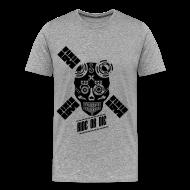 Tee shirts ~ T-shirt Premium Homme ~ ride or die skull bike