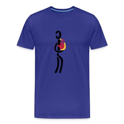 Tragetuch Shirt - Männer Premium T-Shirt