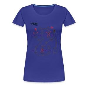 Stereotypen - EinEuro Ensemble - Girlie - Frauen Premium T-Shirt