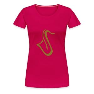 Saxophon Shirt - Frauen Premium T-Shirt