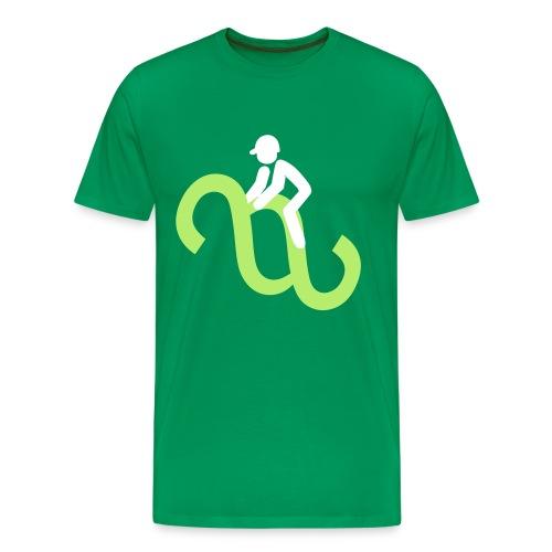 Paragraphenreiter Color T-Shirt - Männer Premium T-Shirt