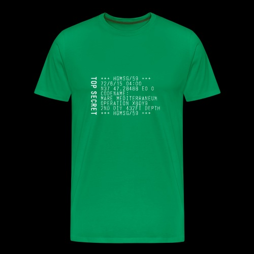 Top Secret (white) - Männer Premium T-Shirt