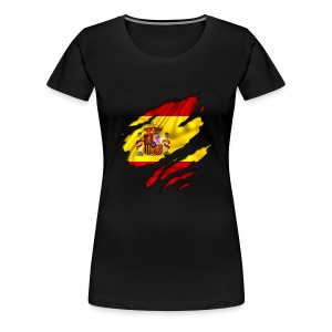 Spaanse vlag - Vrouwen Premium T-shirt