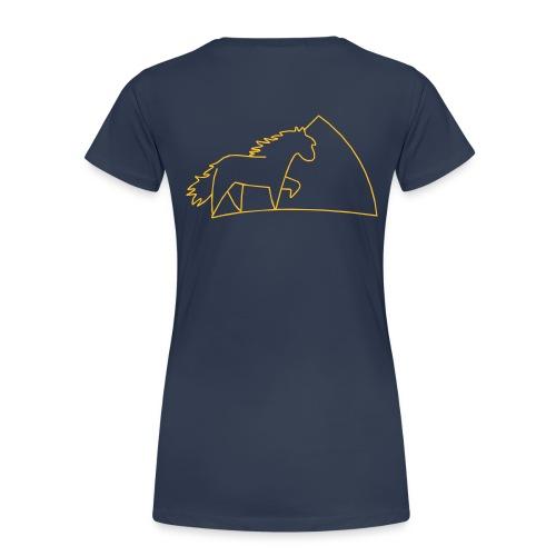 XL- let´s tölt shirt  - Frauen Premium T-Shirt