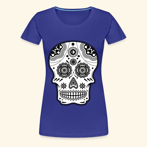 Sugar Skull Woman - T-shirt Premium Femme