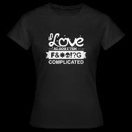 T-Shirts ~ Women's T-Shirt ~ If Love was an Algorithm...
