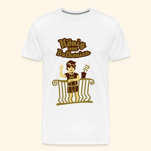 König von Balkonien, Biggie - Männer Premium T-Shirt