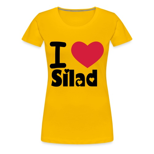I Love Silad - Frauen Premium T-Shirt