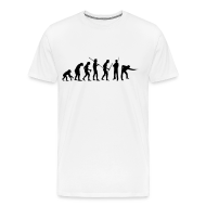 T-Shirts ~ Men's Premium T-Shirt ~ Snooker Evolution white