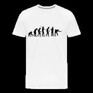 T-Shirts ~ Männer Premium T-Shirt ~ Snooker Evolution white