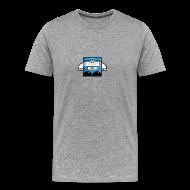 T-Shirts ~ Men's Premium T-Shirt ~ Chief Train Officer - Mini Series