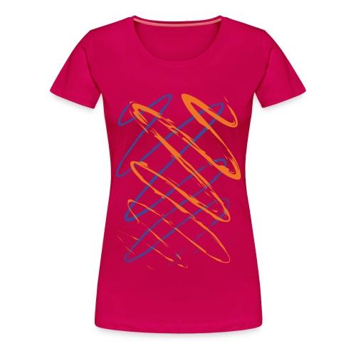Scribble - Women's Premium T-Shirt