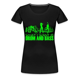 Bass - Frauen Premium T-Shirt