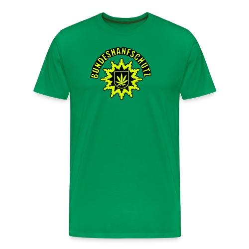 Bundeshanfschutz Polizei T-shirt classic grün - Männer Premium T-Shirt