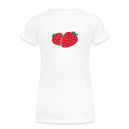fraise - T-shirt Premium Femme