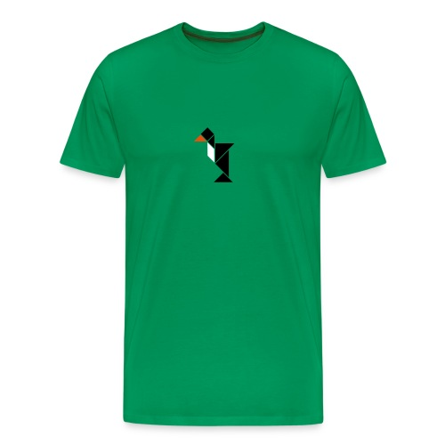 tangram_pinguin - Men's Premium T-Shirt