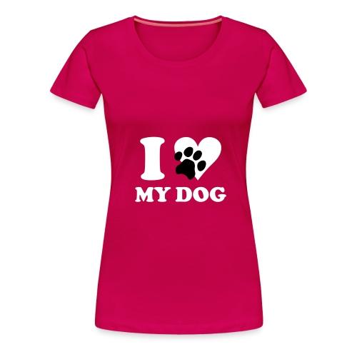 Mydog - Maglietta Premium da donna