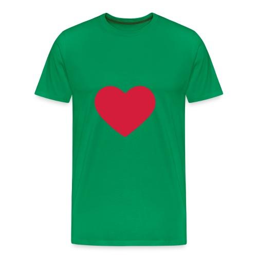 Heart: t-Shirt - Men's Premium T-Shirt