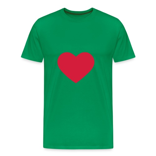Heart: t-Shirt - Men's Premium T-Shirt