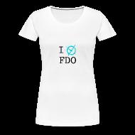 T-Shirts ~ Women's Premium T-Shirt ~ I X FDO - Woman
