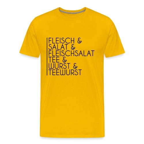 TRENNKOST TEE - Männer Premium T-Shirt